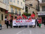 Nueva manifestacion de trabajadores de la Constructora