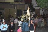 Los Rosarios 2010.  Procesión Virgen de Fátima.29-08_66