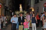 Los Rosarios 2010.  Procesión Virgen de Fátima.29-08_70