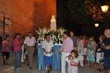 Los Rosarios 2010.  Procesión Virgen de Fátima.29-08_93