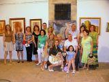Exposicion de los alumnos/as del Taller de Pintura