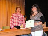 Entrega de diplomas alumnos/as talleres municipales 20