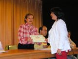 Entrega de diplomas alumnos/as talleres municipales 21