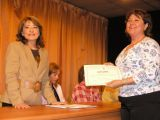 Entrega de diplomas alumnos/as talleres municipales 53