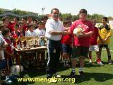 Campeonato de Fútbol 7. Final y trofeos