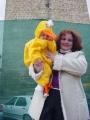 Carnaval 2004. Pasacalles y pasarela en P. Constitución 14