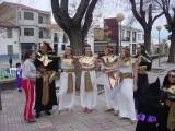 Carnaval 2004. Pasacalles y pasarela en P. Constitución 20