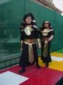 Carnaval 2004. Pasacalles y pasarela en P. Constitución 25