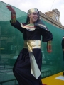 Carnaval 2004. Pasacalles y pasarela en P. Constitución 27