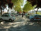Concentración de Seat 600 y coches antiguos, en Mengíbar