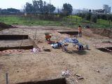 Excavaciones en el poligono industrial. Marzo de 2008