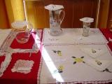 Exposición de encaje de bolillos 13