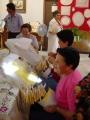 Exposición de encaje de bolillos 22