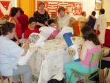 Exposición de encaje de bolillos 29