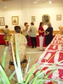 Exposición de encaje de bolillos 42