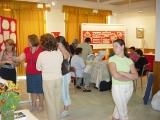 Exposición de encaje de bolillos 48