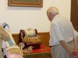 Exposición de encaje de bolillos 58