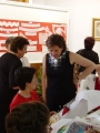 Exposición de encaje de bolillos 62