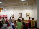 Exposición de encaje de bolillos 65