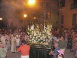 Fiestas de La Malena 2008. Día 22 de julio. Procesión y Ofrenda