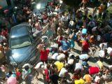 Feria 2005. El primer día, lanzamiento de globos.