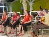 Feria 2005. Actuación de la Peña Flamenca Femenina de Mengíbar
