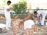 Pórtico de Féria 2006. Concurso de Albañilería 8