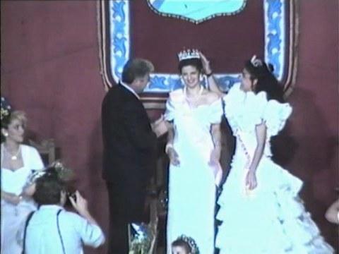 Coronación Reina 1991