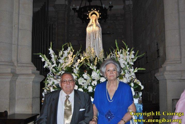 Los Rosarios 2010.  Procesión Virgen de Fátima.29-08_100