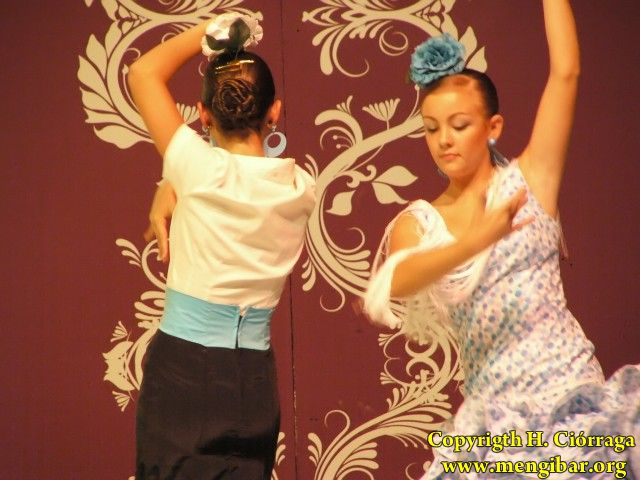 Pórtico de Feria 2009. Escuela de Baile de Miguel Ángel López-2.19-07-2009_111