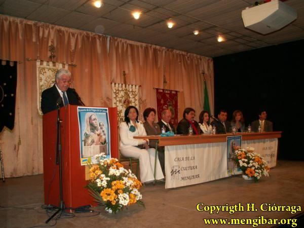 Pregón, Cofradía Virgen de la Cabeza 3