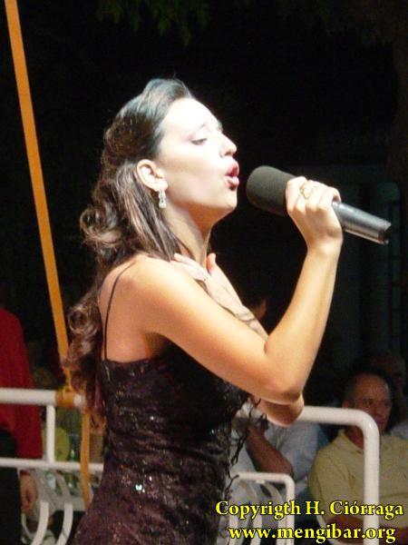 Feria 2006. Actuación de Inés Robles,