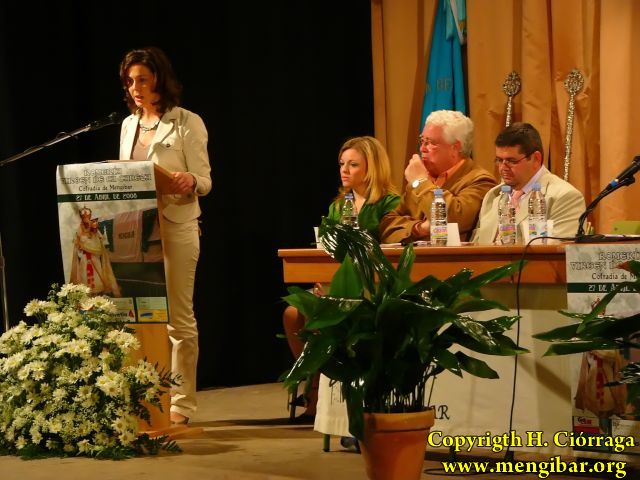 1- Mengíbar Pregon Cofradia Virgen de la Cabeza 2008 (36)