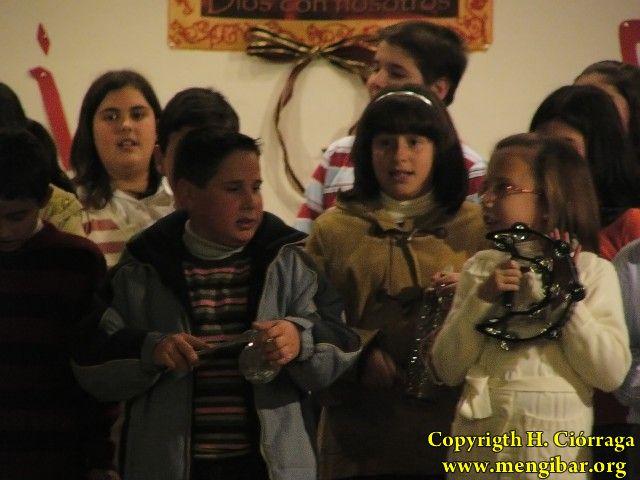 Parroquia Inmaculada.Fiesta de Navidad, de los niños de catequesis. 88